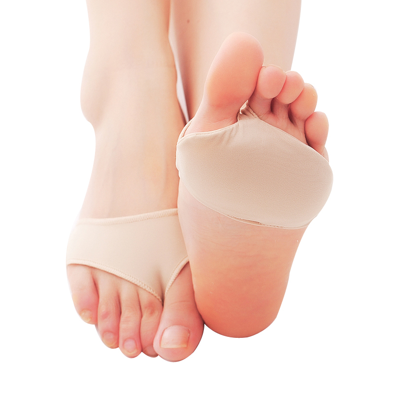 Fabric Gel Metatarsal Ball Of Foot Insoles Pads Cushions Forefoot Pain Support Front Foot Pad Feet Foot Care Tool Orthopedic Pad