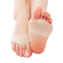 Fabric Gel Metatarsal Ball Of Foot Insoles Pads Cushions Forefoot Pain