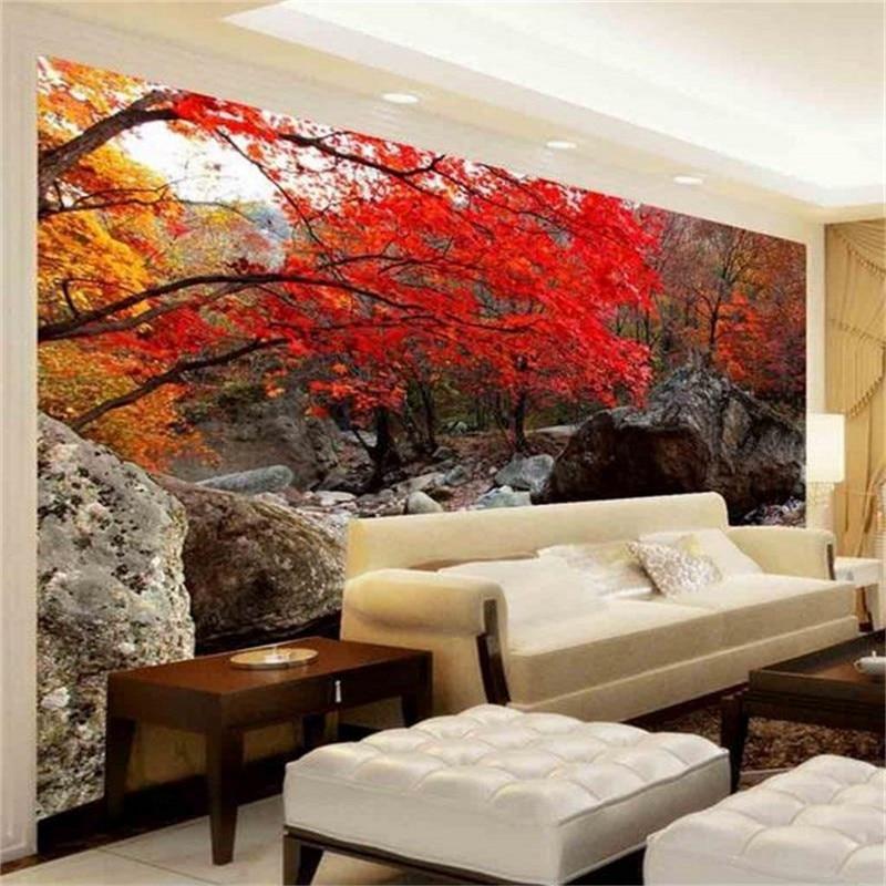 Beibehang 3d HD Photo Wallpaper Custom Room Non Woven