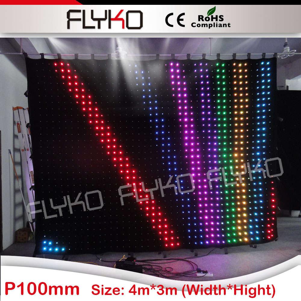 Rgb Led Curtain Lights