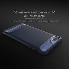 Оригинал Baseus Чехол для iPhone 7/7 Плюс Крышка Мода ПК + силиконовые 2 в 1 Двойной Противоударный для iPhone7 Задняя крышка