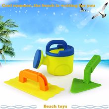 3Pcs Sand Sandbeach Kids Beach Spade Shovel Rake Water Tools Toys For Kids for dropshipping 20180820(China)