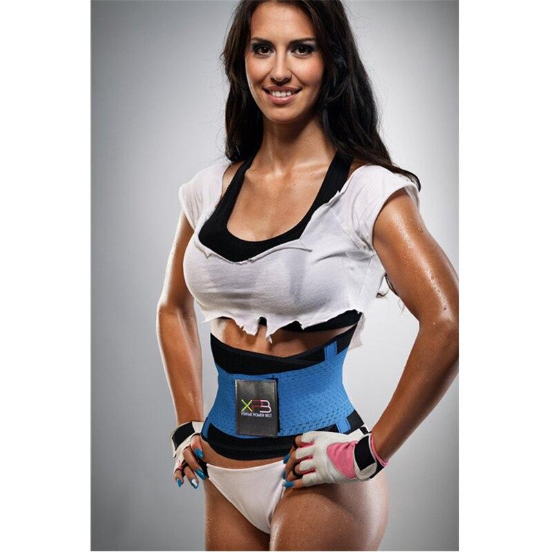 Unisex vita Cincher Corsetto Cintura Body Shaper Tummy Trainer Training corsetto Wrap