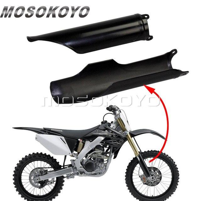 Black Motorcycle Front Fork Guard for Honda CR125 CR250 CR500 93 07 ...