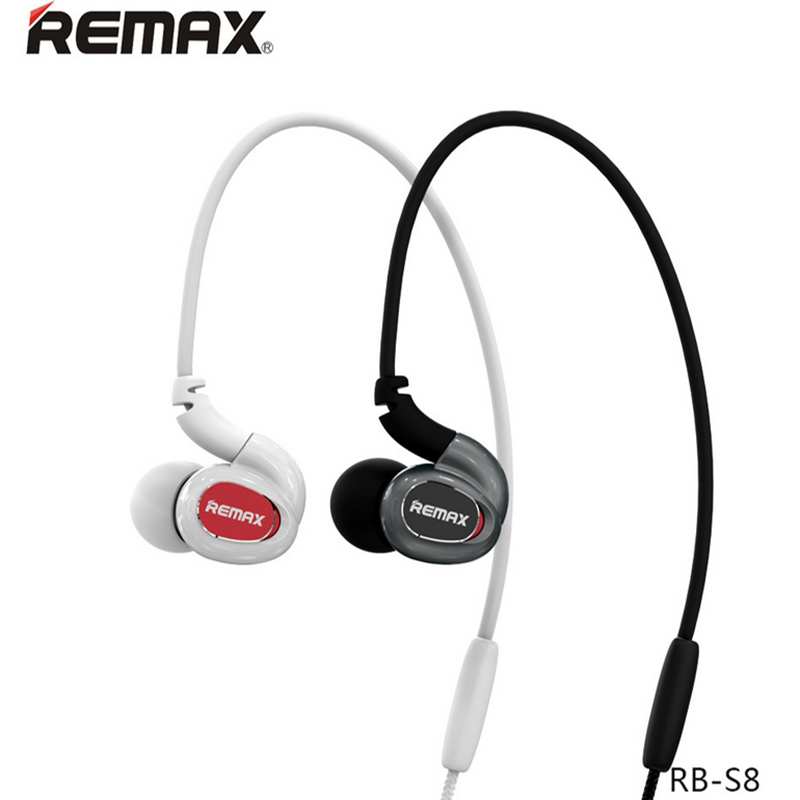 Original Remax S8 Wireless bluetooth headset with MIC stereo sport earphones For Iphone 7 for Samsung note 7 xiaomi smartphones remax s2 bluetooth headset v4 1 magnet sports headset wireless headphones for iphone 6 6s 7 for samsung pk morul u5