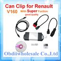 DHL Free for Renault Clip Newest v160 version for Renault multi languages auto diagnostic interface Renault Can Clip ON SALE