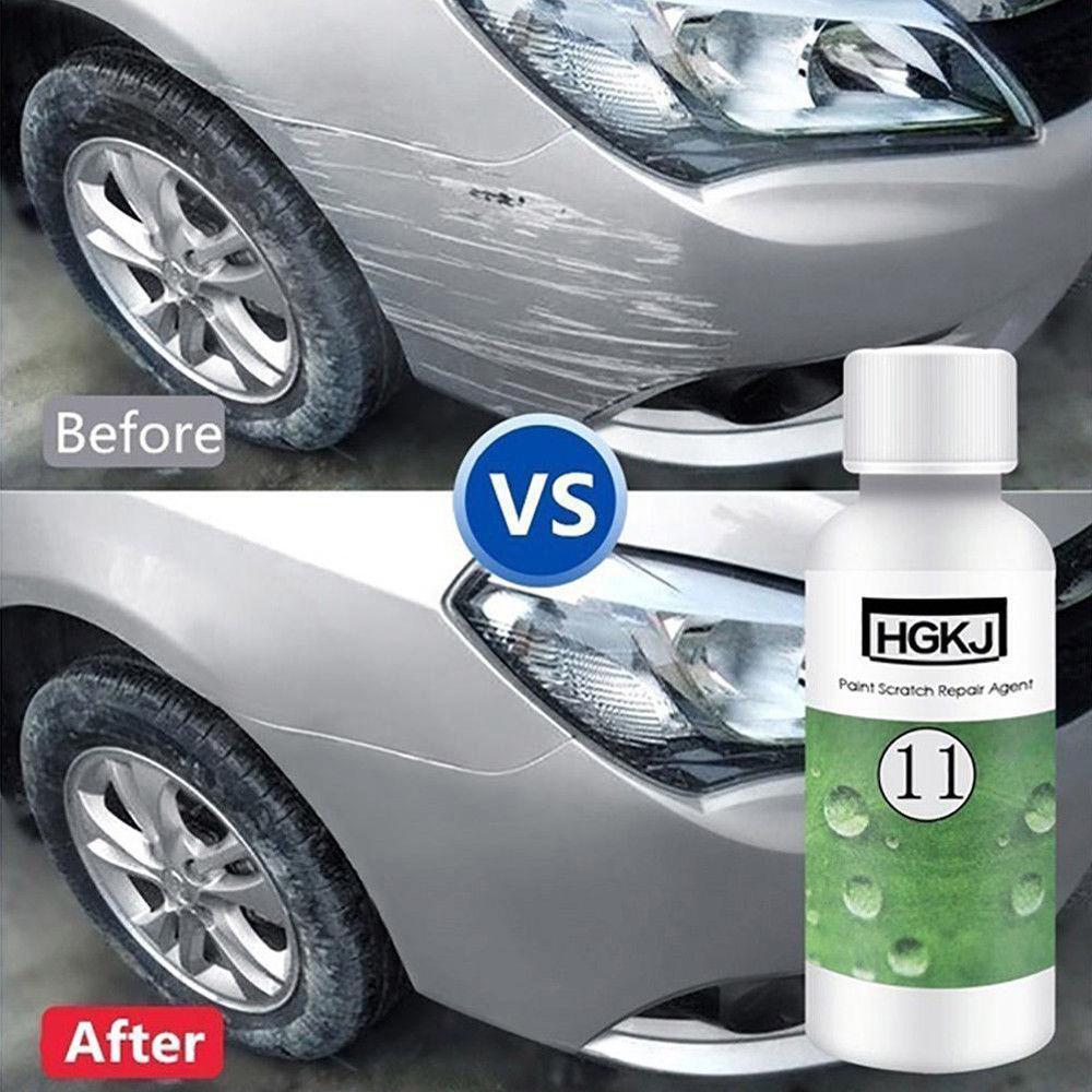 Dragonpad HGKJ Car Paint Scratch Repair Remover Agent Coating Maintenance Accessory Car Cleaning Supplies Paint Scratch Repair