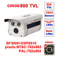 Free Shipping Infrared Video Camera Ccd Other 800tvl Cctv Camera Dual Lamp Array Ir Security Outdoor