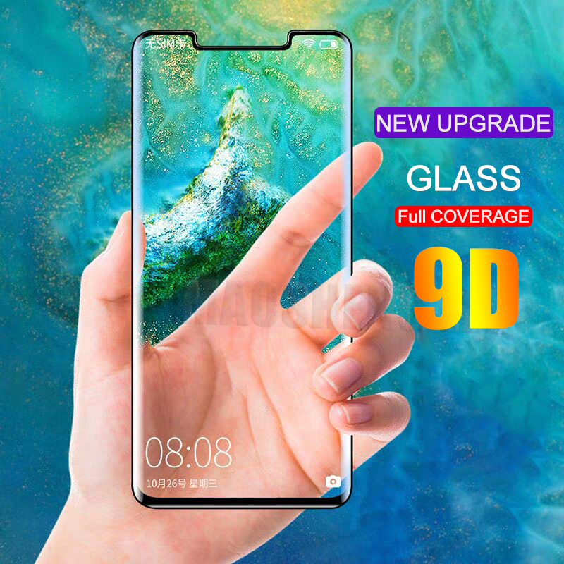 9D Curved Tempered Glass For Huawei Mate 20 Pro Full Cover Glass Screen Protector For Huawei Mate 20 Pro tempered glass film9D Curved Tempered Glass For Huawei Mate 20 Pro Full Cover Glass Screen Protector For Huawei Mate 20 Pro tempered glass film