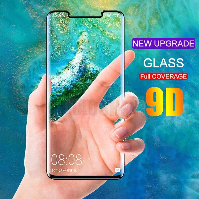 Изогнутое закаленное стекло 9D для Huawei Mate 20 Pro, защитное стекло с полным покрытием для Huawei Mate 30 Pro, закаленное стекло, пленка Защитные стёкла и плёнки      АлиЭкспресс