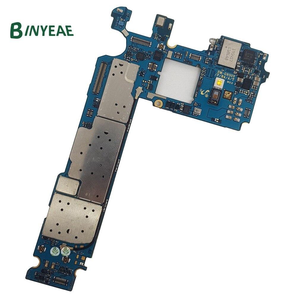 BINYEAE Originale G930V 32 gb Sbloccato Principale Della Scheda Madre Scheda di Ricambio Per Samsung Galaxy S7 G930V di Prova di Buona