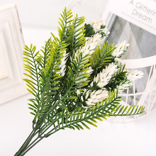 Artificial Flowers Persian Leaves Fake Plants Simulation Fern Grass Green Plant Home Wedding Decoration Sztuczne Kwiaty