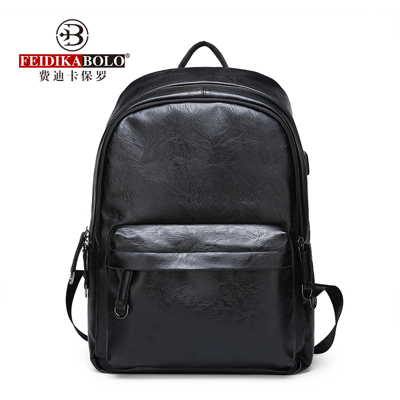 FEIDIKABAOLUO New Men s Backpack High Quality Computer Bag Large Capacity Casual Wild Travel Backpack