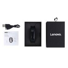 Original Lenovo HW01 Smart Bracelet Bluetooth 4.2 Heart Rate Moniter Pedometer Sports Fitness Tracker For Android iOS pk mi band