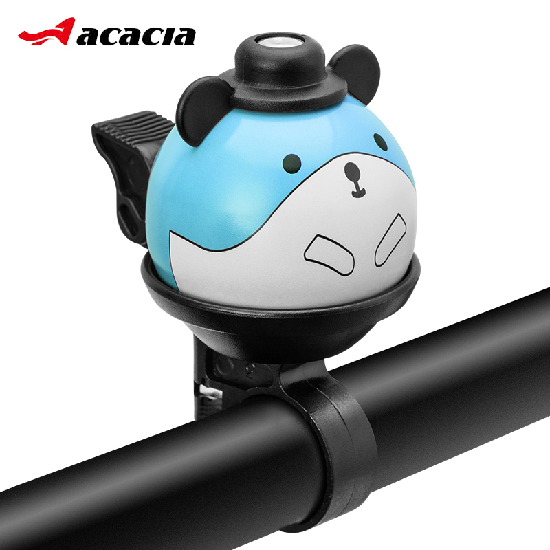 Cute Mouse Design MTB Road Bike Handlebar Alarm Sound Bell Ring 360 Degree Rotation Bicycle Bell for Kids Cycling Accessory