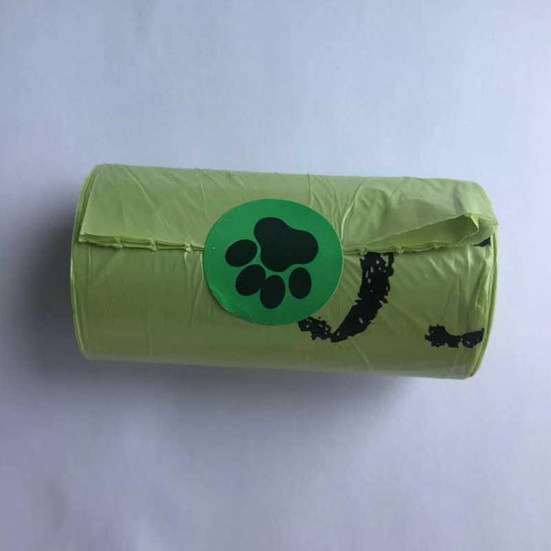 100% Zero Resíduos Sacos de Cocô de Cachorro do animal de Estimação Saco de Lixo Biodegradável Compostável Proteção Renovável ECO Friendly Saco De Lixo Biodegradável