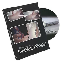 HOT NEW SansMinds Sharpie With Gimmick By Will Tsai Magic Tricks Close Up Street Stage Magic