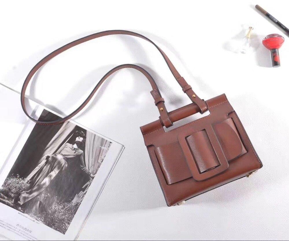 High Quality Genuine Leather Mini Crossbody Bag 2017 Ladies Handbag High Quality Designer Women Bag Female