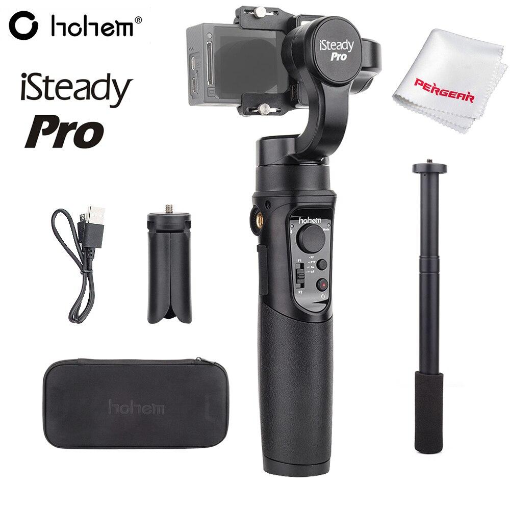 Hohem iSteady Pro 3-Eixo Cardan Handheld Estabilizador para Sony Gopro Hero RX0 7 6 5 YI SJCAM Action bolso câmera PK para DJI Osmo
