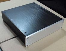 NEW WANBO Audio 2205 Full aluminum enclosure /headohone amplifier chassis aluminium amplifier chassis 220mm*52mm*226mm