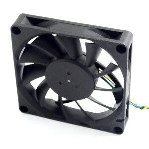 Image 4 - 1pcs 8CM 80MM 8015 8*8*1.5CM 80*80*15MM 12V 0.5A 4 wire PWM Fan EFC0812DB Cooling fan For Delta