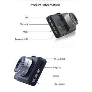 Image 4 - Full HD 1080P araba dikiz kamera dvr araç kamerası kaydedicisi dashcam ayna ters kamera dvr video kaydedici ford focus için 2