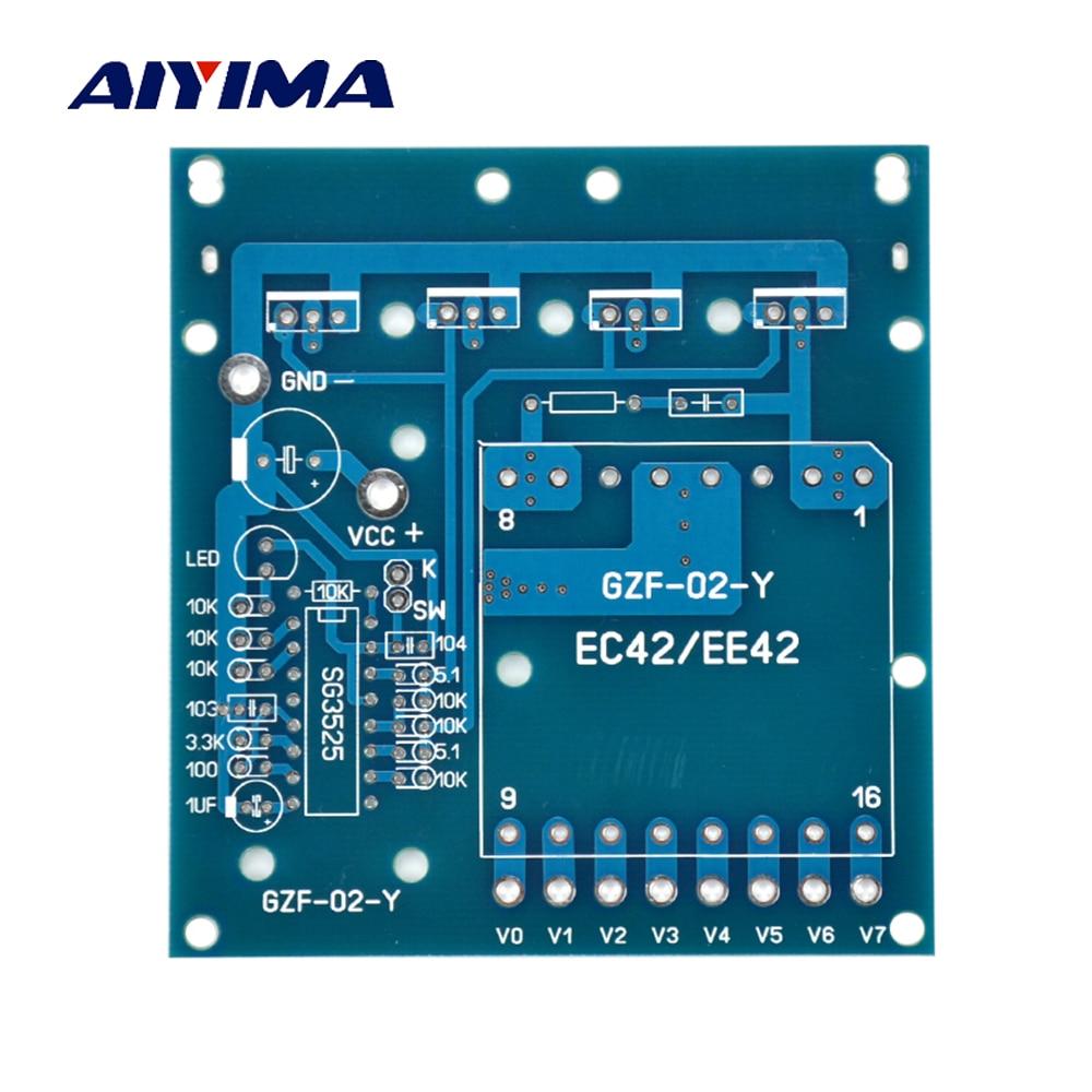 Aiyima Full Protection 12 24v Sg3525 Lm358 Inverter Driver Board Pre 100 Watt Circuit Konverter V Zu 220 380 18 500 Boost Nackten