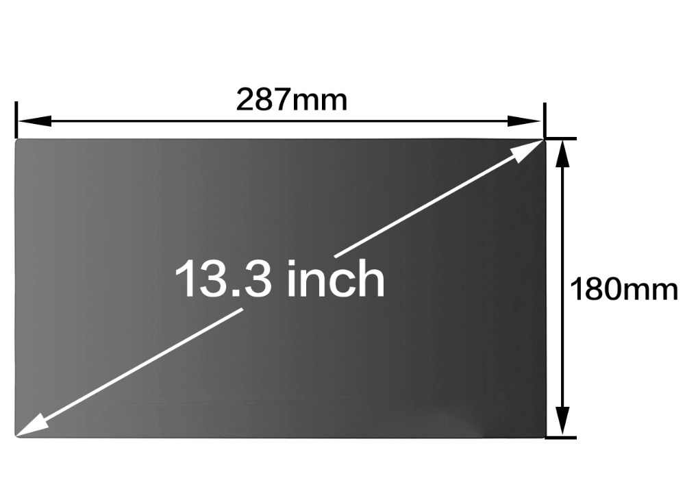 באיכות גבוהה PET פרטיות מסנן מסכי מגן סרט עבור Apple MacBook ישן אוויר 13 אינץ מחשב נייד מחשוב דגם A1369 A1466