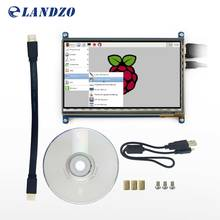 Raspberry Pi 3 Дисплей HDMI 7 дюймов 800*480 ЖК-дисплей с Сенсорный экран Monitores для Raspberry Pi 3 b + /2B pcDuino банан pi