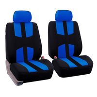 FLY5D Universal Car Seat Cover Breathable Fabrics Full Cover Auto Seat Protector for Four Seasons for SUV Car Turck