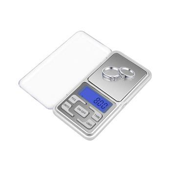 Wysoka precyzja wagi do biżuterii 100g 200g 300g 500g dla złoty diament biżuteria waga bilans cyfrowe kieszonkowe wagi elektroniczne tanie i dobre opinie Mannanov Pocket scale 2 * 1 5V AAA batteries (Battery not included) 120 * 65 * 20mm 4 8 * 2 5 * 0 8in DH-668B 0 1g 0 01g