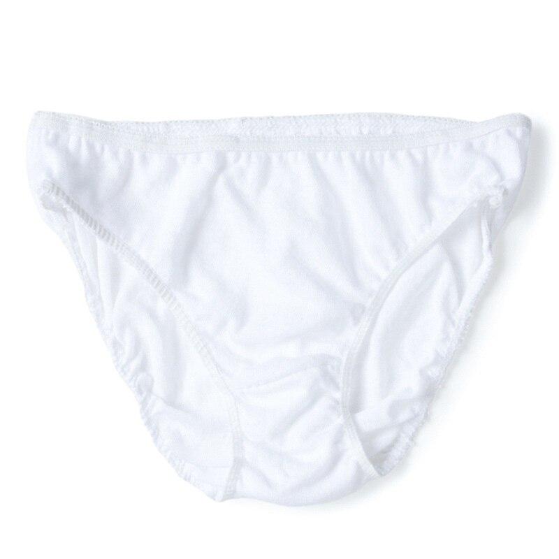 NEW Ladies Pack of 3 White 100/% Cotton Bikini Briefs