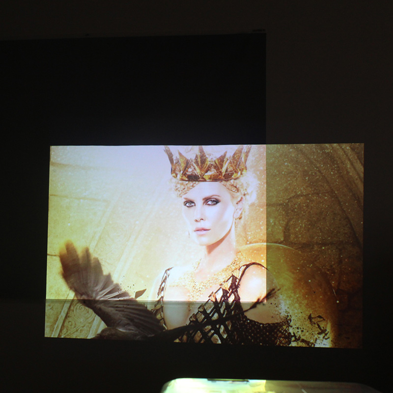 120 polegada 16:10 tela de projeção tela de Projeção pano de tecido refletivo para Projetores Epson Sony Benq XGIMI JMGO