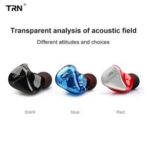 Image 2 - TRN IM1 Pro 1BA 1DD Hybrid In Ear Earphone Running Sport HIFI Headset Detachable Detach Earphone TRN v30 V80 IM2 V20 VK1 BT20 S2
