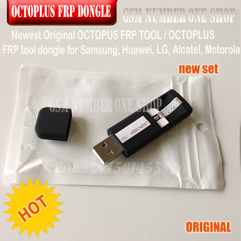 2019 ORIGINAL NEW OCTOPLUS FRP TOOL dongle for Samsung