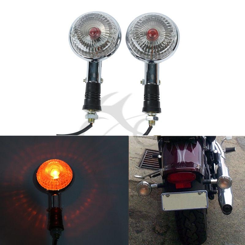 Turn Signal Blinker Amber Light For Yamaha XVS650 V Star XVS400 xvs1100 535 920 Motorcycle Accessories
