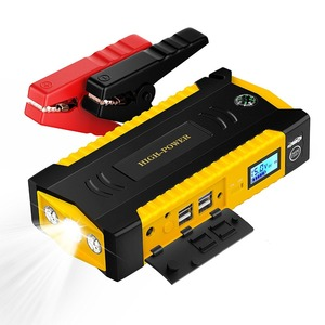Car Battery Jump Starter for Dead Battery Car Emergency High Power Bank Auto Booster Charger With 4USB Output