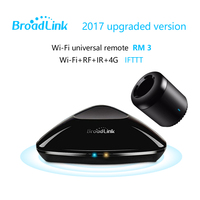 2018 Broadlink RM Pro + RM mini3 Evrensel Akıllı kontrolör, Akıllı ev Otomasyonu, WIFI + IR + RF uzaktan kumanda IOS Android