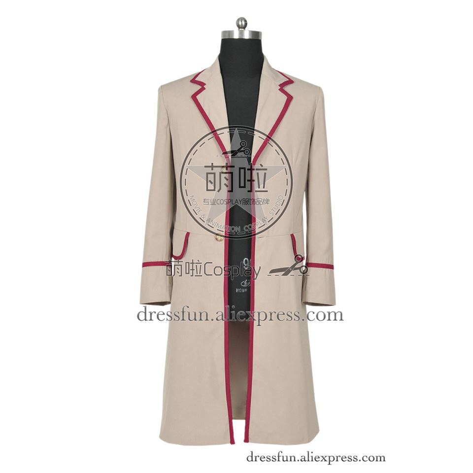 Who Is Doctor The Fifth Dr Peter Davison Cosplay Coat Jacket costume Cloak