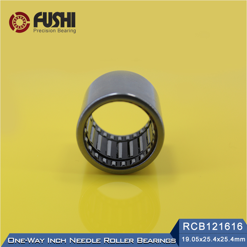 RCB121616 Inch Size One Way Drawn Cup Needle Bearing 19.05*25.4*25.4 mm ( 2 Pcs ) Cam Clutches RCB 121616 Back Stops Bearings