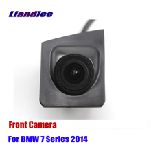 Liandlee AUTO CAM For BMW 7 Series 2014 Front View Camera Logo Embedded ( Not Reverse Rear Parking )
