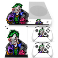 High Quality Game Console & Controller Vinyl Skin Stciker For Xbox One S -- joker style #TN-XbOneS-0083