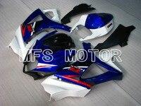 For Suzuki GSXR 1000 K7 2007 2008 Injection ABS Fairing Kits GSXR1000 K7 07 08 Others Blue/White