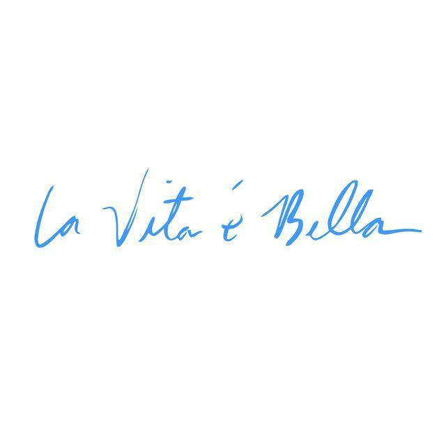 La Vita e Bella Reflective Vinyl Decal 3