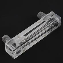 Instrumento de medição de fluxo de água 0.2-2GPM1-7LPM tipo de painel de vidro medidor de fluxo de líquido