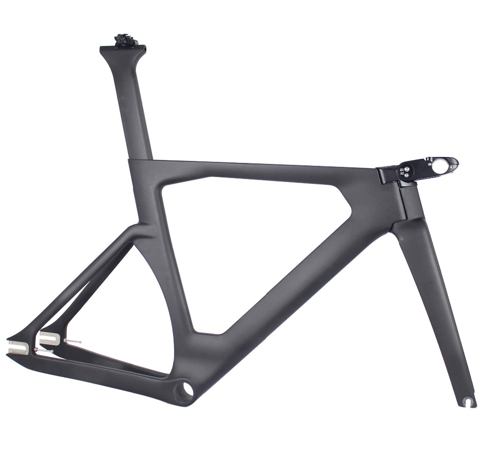 MIRACLE 2019 Aero Track bicycle Carbon frame new Carbon Track Frame UD weave 700c Track bike