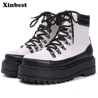 Xinbest 2108 Woman Brand Outdoor Athletic Sport Shoes For Women High quality fabric Genuine Leather Women Skateboarding Shoes