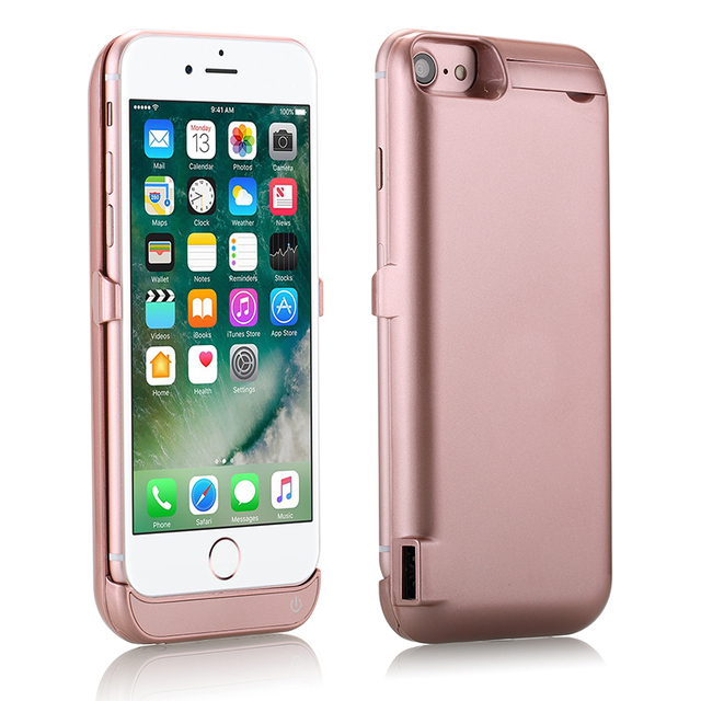 URMWING Brand New new type 10000 mAh External power bank case Power pack Charger Backup Battery Case For iPhone 7 Plus
