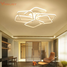 Creative iron acrylic LED ceiling lights simple home Led Ceiling Lightingt fixture for bedroom led AC110-240V