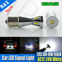 1pair 48W 1156 BA15S Bright 360 Degree Led Bulbs P21w R5W Light CreeChips For Car Brake